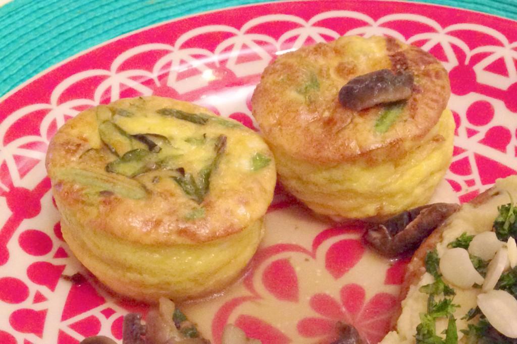Muffins de omelete